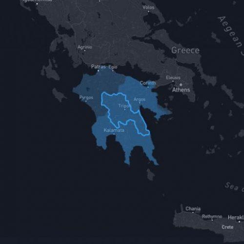 IVArcadia Activities Location - South Greece - Peloponnese - Arcadia