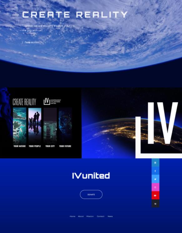 IVunited - Website